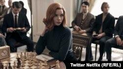"""Главната героиня от """"The Queen's gambit"""" Елизабет Харман, изиграна от актрисата"""