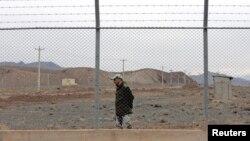 نمایی از تاسیسات هستهای ایران در نطنز
