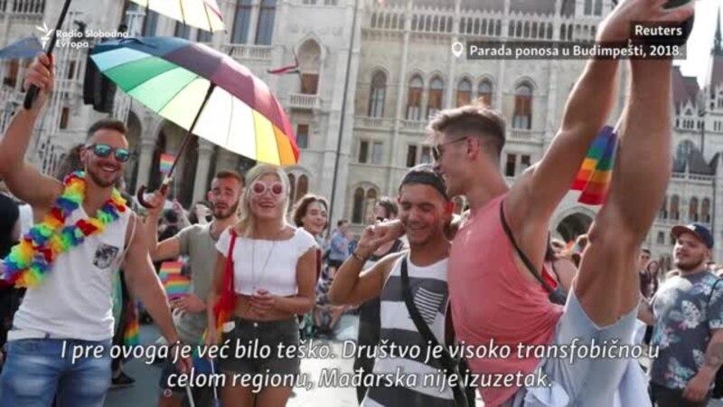 Podrška iz Srbije trans osobama iz Mađarske