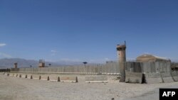 Кабулдан 70 чакырым алыстыктагы Баграм аба базасы, 2-июль 2021-жыл.