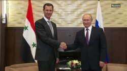 Putin Hosts Assad In Sochi