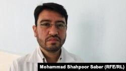 فاروق احمد صدیقی، مسئول واحد کنترل سرطان در هرات