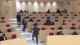 Потасовка в грузинском парламенте