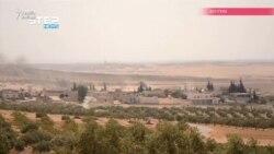 Idlibdə yaşayış məntəqələrini bombaladılar (VİDEOGÖRÜNTÜLƏR)