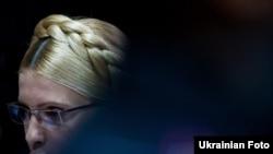 Юлія Тимошенко під час засідання Печерського районного суду Києва, 7 липня 2011 року