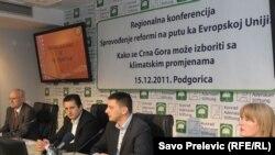 Konferencija o klimatskim promjenama i sprovođenju evropskih reformi, Podgorica, 15. decembar 2011.