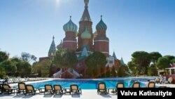 Un hotel pentru turiștii ruși, la Antalya, 6 decembrie 2015