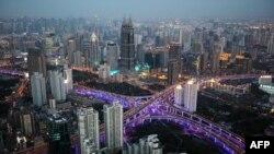 Չինաստան, Շանհայի նոր ֆինանսական թաղամասը: 28 Մարտ, 2010