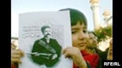 Səttərxanın ölümünün 93-cü ildönümünə həsr olunmuş mərasim. Tehran 15 noyabr 2007