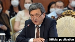 Замирбек Базарбеков.