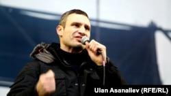 УДАР партияси лидери Виталий Кличко.
