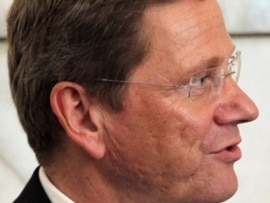 German Foreign Minister Guido Westerwelle said the money was being provided to address shortages of medical care and food.