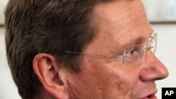 Guido Westerwelle, German Foreign Minister, Kabul, 21Jul2011