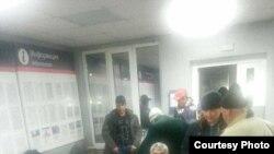 Орус-казак чек арасында калган тажик мигранттары