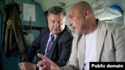 Петр Порошенко и Георгий Тука