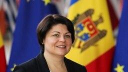 Premierul Natalia Gavrilița în prima vizită oficială la UE, Bruxelles, 27 septembrie 2021.