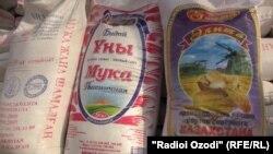 Орди Қазоқистон дар бозори Душанбе