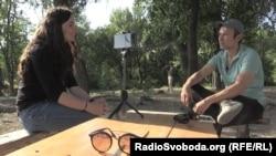 Святослав Вакарчук дає інтерв'ю Радіо Свобода