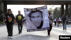 Акция против оправдательного приговора Циммерману