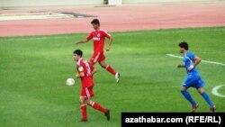 Türkmenistandaky futbol ýaryşy