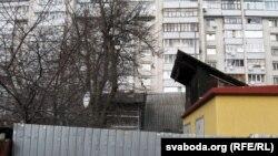 Электрападстанцыя на ўчастку Коханавых