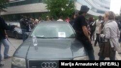 Sarajevo: Protest ispred zgrade institucija BiH