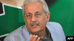 Pakistan People's Party Senator Raza Rabbani