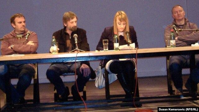 Saša Ilić, Zlatko Paković, Irena Javorski i Dejan Ilić