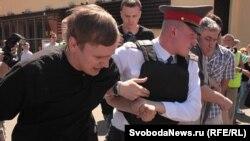 """Задержания участников """"Дня гнева"""" в Москве, 2 июня 2011"""