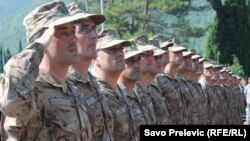 Crnogorski vojnici odlaze u Avganistan
