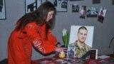 Юлія Микитенко, вдова розвідника 25-го тербату «Київська Русь» Іллі Сербина