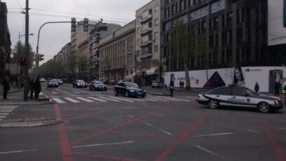 Delegacija Hrvatskog sabora napušta Beograd u pratnji policije