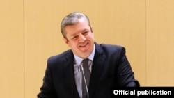 Премьер-министр Грузии Георгий Квирикашвили. 29 декабря 2015 года.