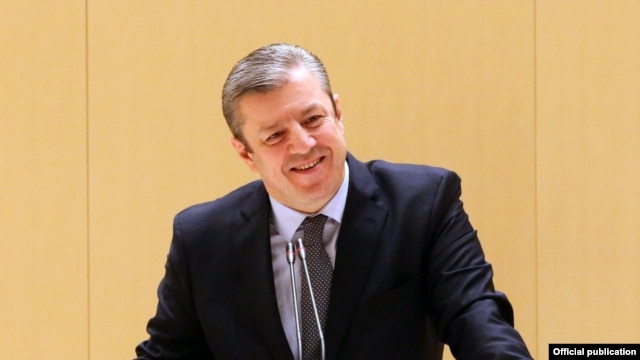 Ґіорґі Квірікашвілі в парламенті Грузії, Кутаїсі, 29 грудня 2015 року