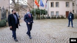 Македонскиот премиер Зоран Заев и премиерот на Луксембург,Ксавиер Бетел