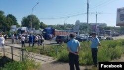 La protestul de la Râbnița