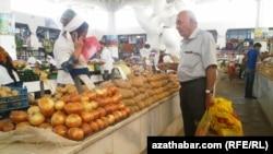 Русский базар, Ашхабад
