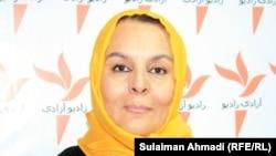 فتانه گیلانی مسئول مجتمع زنان افغان