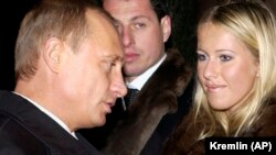 Vladimir Putin və Ksenia Sobchak