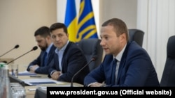 Президент Владимир Зеленский и председатель Донецкой ВГА Павел Кириленко