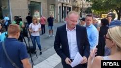 Dragan Đilas, predsednik Stranke slobode i pravde