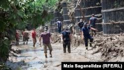 Kopshti zoologjik i Tbilisit pas vërshimeve