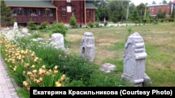 Мемориал на месте Казачьего кладбища в Омске