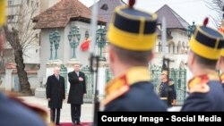 La ceremoniile de la București
