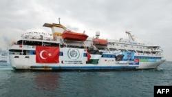 Турецкий корабль Mavi Marmara, на борту которого в 2010 году были убиты активисты движения «Свободу — Палестине!».