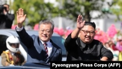 Mun Džae In i Kim Džong Un, Seul