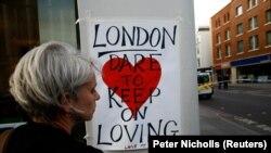 Poruka nakon napada na Londonskom mostu
