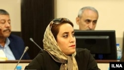 Layla Fathi, member of Iran's Business Women's Association. FILE PHOTO