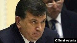 Ўзбекистон Бош вазири Шавкат Мирзиëев.