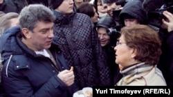 Пушкин мәйданында НТВны теттеләр